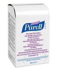 Gojo Industries Inc 9657-12 Purell Instant Hand Sanitizer 800mL 1/Ea