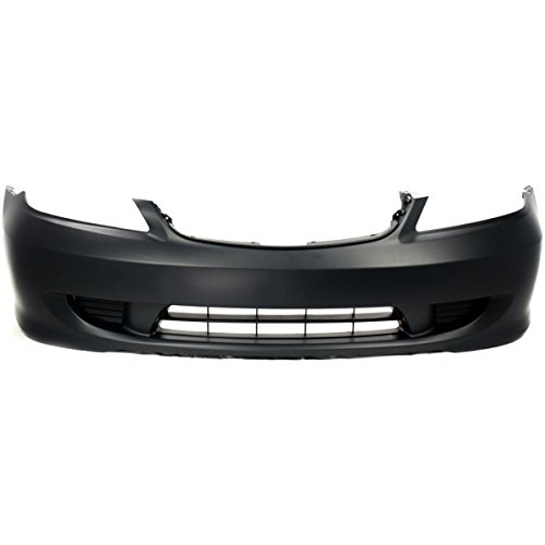 MBI AUTO – Painted To Match, Front Bumper Cover 2004 2005 Honda Civic, HO1000216