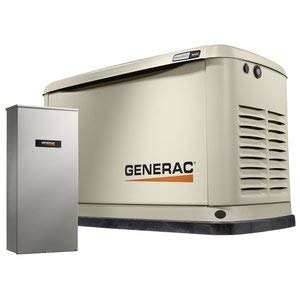 - Generac 70371 Home Standby Generator Guardian Series 16/16kW Air-Cooled with Wi-Fi, 200SE, Aluminum