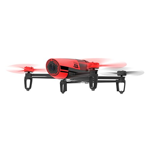 Parrot Bebop Quadcopter Drone – Red-Black (Certified Refurbished)