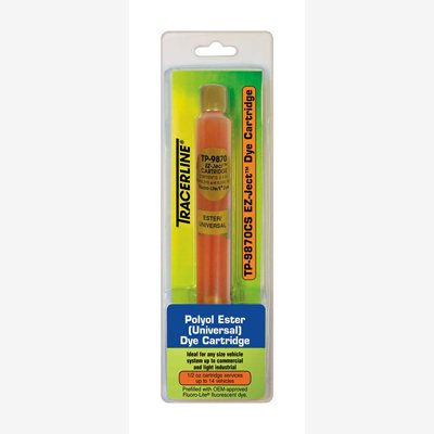 Tracer Products TP9870CS EZ-Ject Universal A/C Dye Cartridge