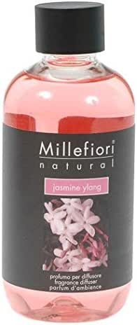 Millefiori Natural Fragrance Diffuser Refill - Jasmine Ylang - 250ml/8.45oz