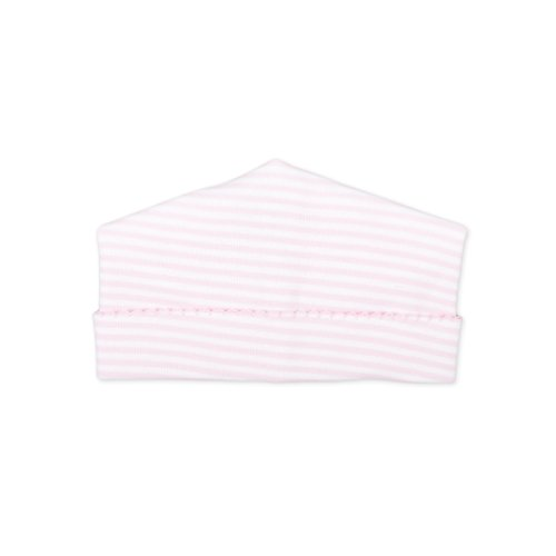 Magnolia Stripe - Magnolia Baby Baby Girl Stripes Essentials Embroidered Hat Pink Newborn