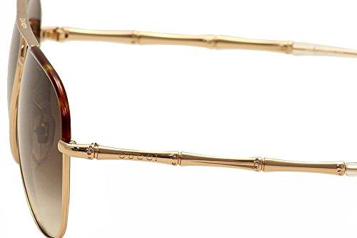 36521839b36 Gucci Women s GG 4276 S Gold Copper Brown Gradient - Import It All