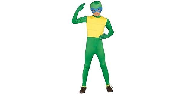 Niño Niños Verde Animal Tortuga Ninja TV Dibujos Animados ...