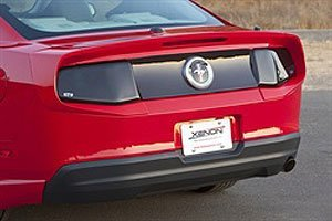 GT Styling GT4154 Tail Light Blackout Panel for Mustang 2010 by GT Styling