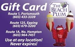 The Beach Plum Gift Card ($25) ()