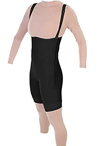 Post Op Tummy Tuck Recovery Garment - Liposuction Mid Thigh Compression Grament | ContourMD : Style 34Z (Small, (Post Tummy Tuck)