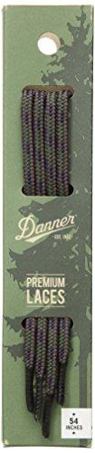 "Danner Laces 54"" Shoelaces, Brown/Green/Blue, Universal Regular US"