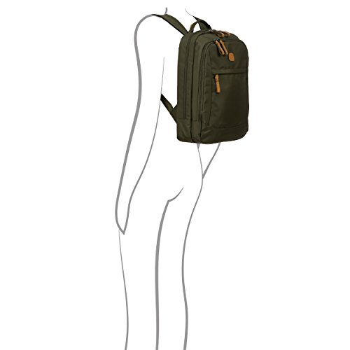 Bric's X-Travel 4 Piece Set | 21'', 25'', Metro Backpack, Travel Pillow (Olive) by Bric's (Image #7)