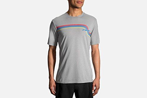 Brooks Track T-Shirt - Cotton Shirt Brooks