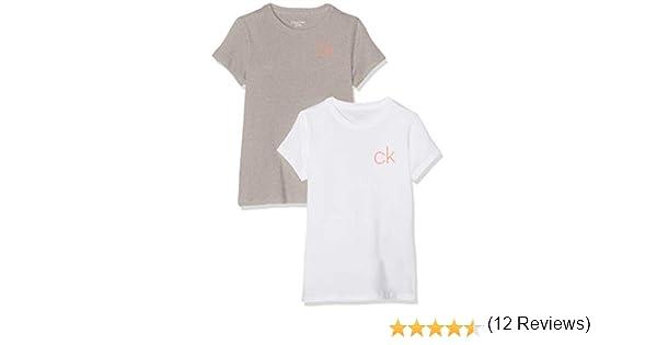 Tommy Hilfiger Camiseta (Pack de 2) para Niñas: Amazon.es: Ropa y accesorios