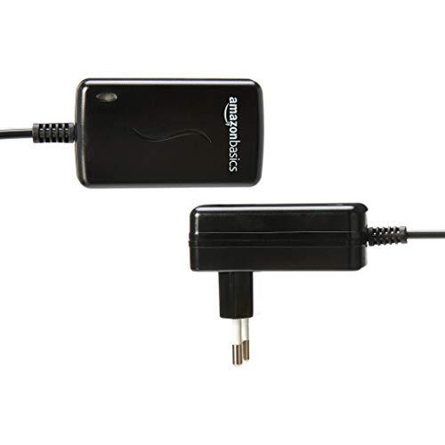 AmazonBasics - Adaptador de fuente de alimentación de CC, universal, con 7 conectores intercambiables, 3-12 V, polaridad reversible: Amazon.es: Electrónica