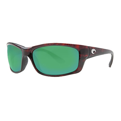 Costa Del Mar Jose Sunglasses, Tortoise, Green Mirror 580 Plastic - Mar 580 Costa Del Jose
