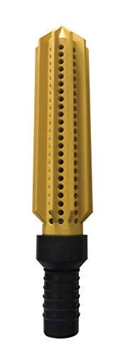 Reflex Suction Strainer - World's Only Flexible Rubber - Built in 2 inch Hose Tail Fitting - Heavy Duty Industrial - Yellow by Reflex Suction Strainer