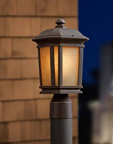 Quoizel Corrigan 14.25-in H Bronze Post Light