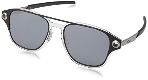 Oakley Men's OO6042 Coldfuse Square Titamium Sunglasses, Matte Black/Prizm Black, 52 mm ()