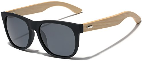 Polarized Classic Rimmed Sunglasses Temples product image