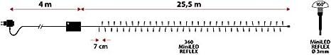 Catena 25,5 m con Memory Controller Cavo Verde 360 miniled Blu 30V Esterno