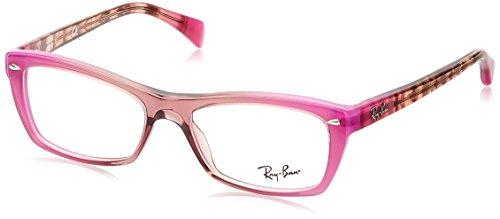 Ray-Ban Rx5255 (51) Eyeglasses RX5255 5489 Grad Antique Pink On Pink 51 16 - P Glasses Ray Ban