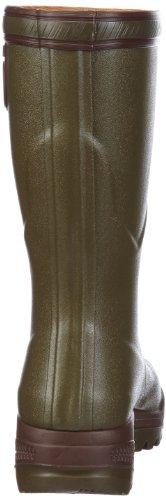 Bottillon Uomo Gummistiefel 2 Kaki Stivali Parcours da Aigle Caccia Verde Ewfpqx660