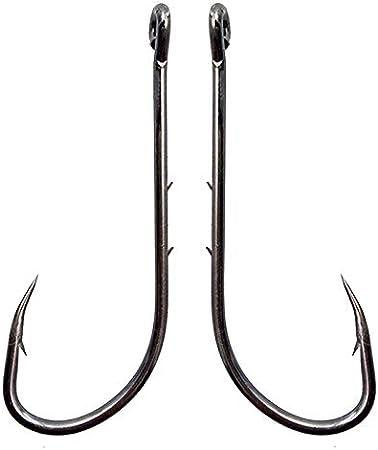 Amazon Com Baitholder Fishing Hooks Long Shank Beak Baitholder Hooks 100pcs Black Offset Bait Holder Jig Fishing Hooks With 2 Baitholder Barbs Size 4 6 0 Sports Outdoors