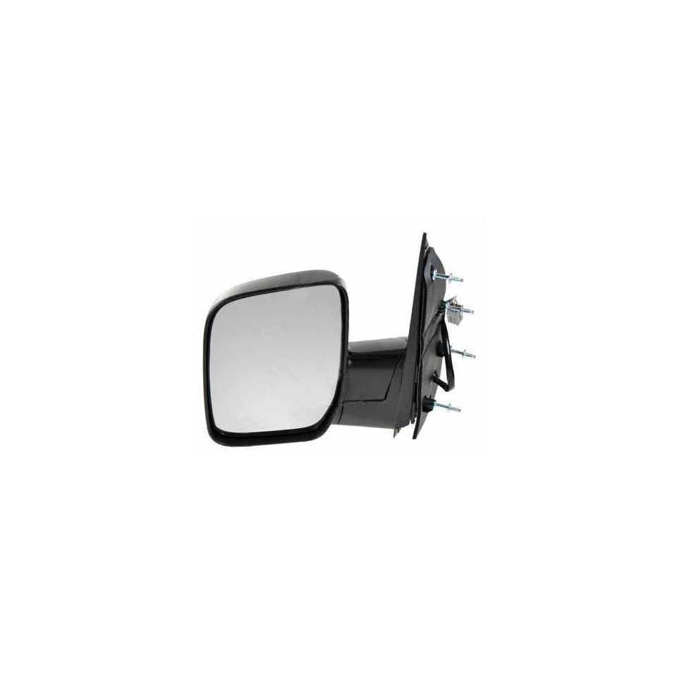 Mirror Drivers Side LH Ford Econoline Van E 150, E 250, E 350 Super Duty, E 450 Super Duty 2007 2008, Power, Manual, Folding, Textured