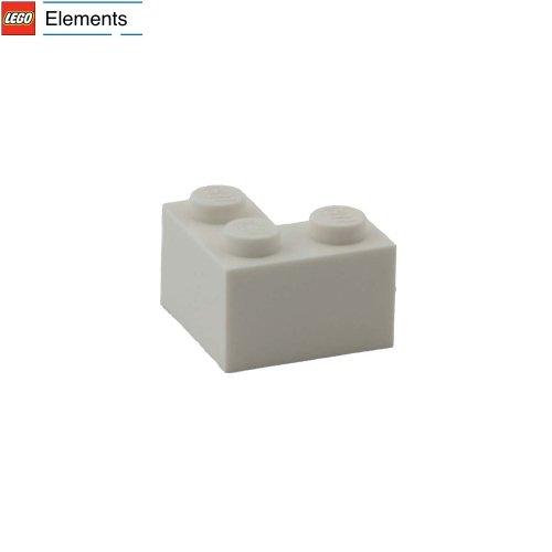 Lego Parts: 2 x 2 Corner Brick (White) (Brick Lego Corner)