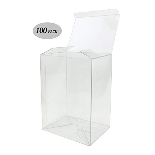 GosuToys Clear Plastic Protector Case Compatible For 4-inch Funko Pop Figures (40 Pack)