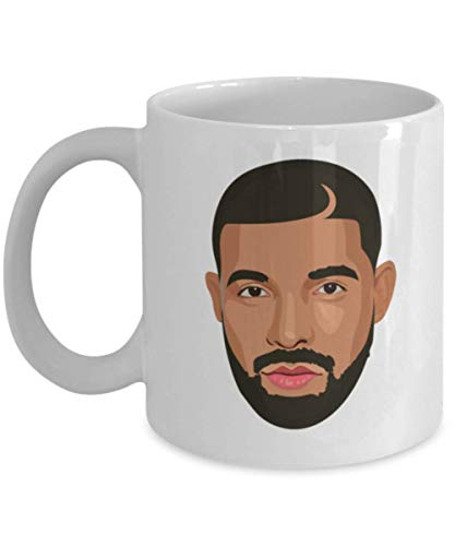 Drizzy Drake Feelings Cartoon Head OVO Champagne Papi Coffee Mug Cup Gift 11oz Ceramic Mug