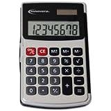 - Handheld Calculator, 8-Digit LCD