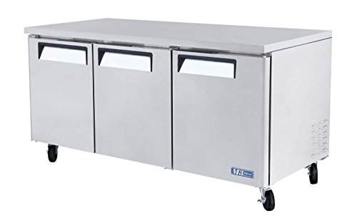 Undercounter Refrigerator Series Commercial - MUR72 19 cu. ft. M3 Series Undercounter Refrigerator with Efficient Refrigeration System Hot Gas Condensate System High Density PU Insulation and PE Coated Adjustable Shelves: Stainless Steel