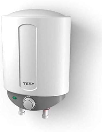 Tesy Compact - Termo de Agua Eléctrico Compacto de 6 Litros Con Tomas Inferiores y Alta Eficiencia Energética.