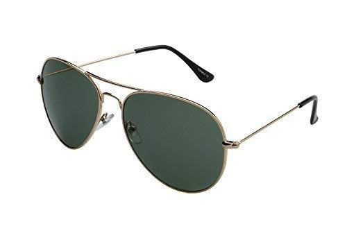 ORO alpland sol sol inkl Gafas de softbag OLIVA gafas aviador de de O1xawOf