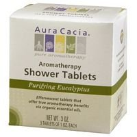 (Aura Cacia Purifying Eucalyptus Aromatherapy Shower Tablets)
