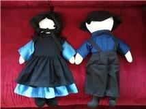 Amish Girl Doll - Faceless Dolls - Man & Woman