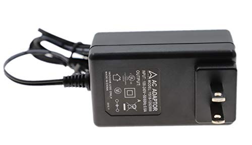 AHRMA [UL Listed] 12V 2A AC/DC Adapter Compatible with DreamBox 500 DM500C DM500 S/C/T Series 12VDC 2000mA Power Supply Cord Cable Wall Charger Mains PSU