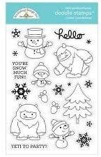 Doodlebug 6481 Doodle Stamps Clear WNTR WONDR