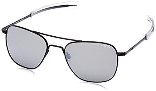 Sunglasses Spectrum Matte Bayonet Silver Black Fl Glass Mirror Ar Randolph Aviator Polarized qUZ4wUH