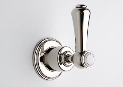 Rowe 3/4 Inch Concealed Wall Valve - Rohl U.3774LSP-STN/TO, Rohl Showers, Georgian Era 3/4