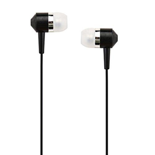 - KFSO In-ear Earphone 3.5mm Super Bass Stereo In-Ear Earphone Headphone Headset For Phone (Black)