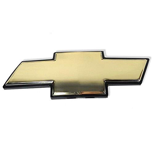 Guzetop Gold Front Grille Emblem for Chevy Tahoe Suburban Avalanche - Tahoe Emblems Chevy