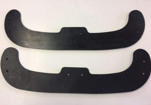 MOWERMAN PARTS Rubber Snow Blower Paddle Set Fits Husqvarna 532442759 Set of 2 ST111, ST121, ST131 by MOWERMAN PARTS