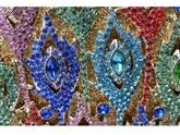 N/F TEYUN Diamanten besetzte Abendtasche Braut-Tasche (Color : As Photo) As Photo