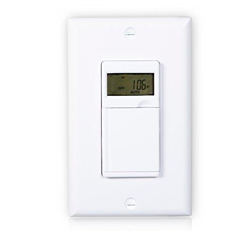 Maxxima digital in wall 7 day programmable timer light switch up to maxxima digital in wall 7 day programmable timer light switch up to 18 onoff settings aloadofball Gallery