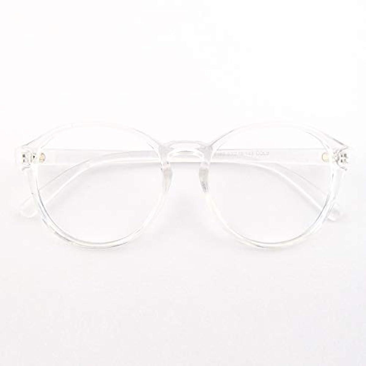 [해외] 【FUTURE CRUISE】 클리어 프레임 다테 안경 클리어 안경 맨즈 레이디스 겸용