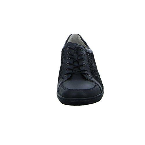 Lacets Noir Chaussures pour Waldläufer à Ville de Femme wIqRT07