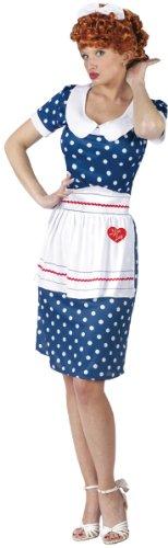 I Love Lucy Sassy Costume - Small/Medium - Dress Size 2-8