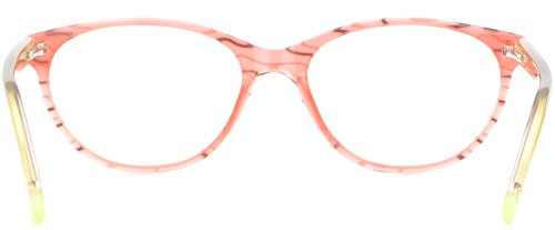 33e8326a50b Amazon.com  Oval Women s Girls Acetate Plastic Frame Spring Hinges  Prescription Glasses Pink  Clothing