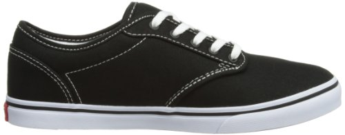 Shoes Canvas Canvas Black White Unisex Adults' Vans Skateboarding Low Atwood nfq7xZ6